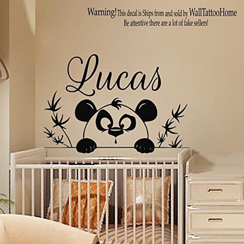 Wall Decals Personalized Name
