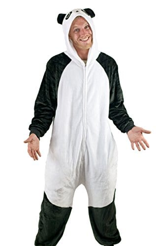 Adult Onesie Panda Animal Pajamas Comfortable Costume With