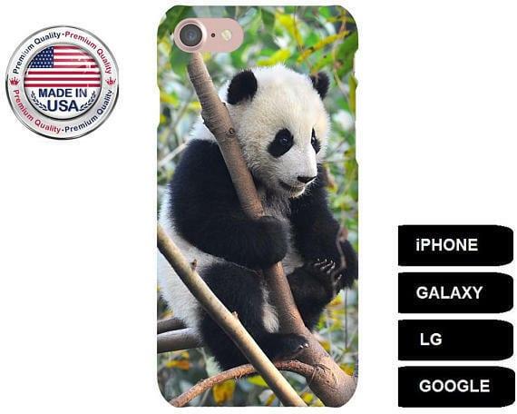premium selection ce51a 877a4 Panda Phone Case, Panda Bear Phone Case, Panda iPhone Case, Panda Galaxy  Case