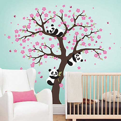 Cherry Blossom Tree Wall Decor from pandathings.com