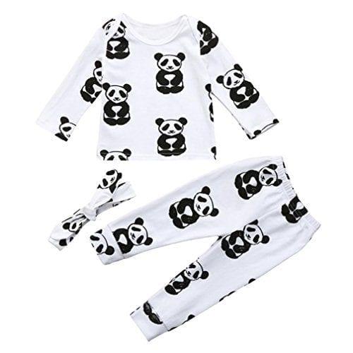 f492c71e95e9d Baby Pajamas Sets,Jchen(TM) Newborn Infant Toddler Boy Girl Panda ...