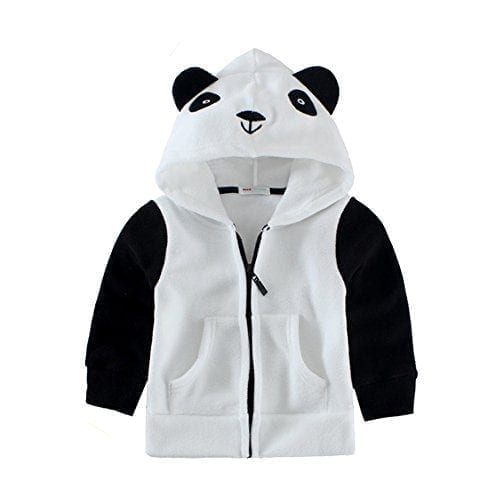Mud Kingdom Toddler Boy Cartoon 3D Dog Fleece Outfit ZT0331