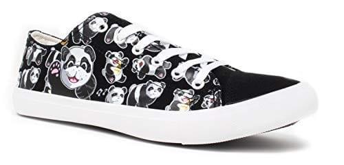 Panda Bear Sneakers | Cute Fun Gym