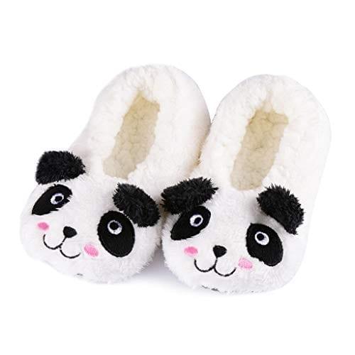Panda Bros Kid's Animal Slipper Socks